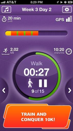 10公里跑步训练!截图0