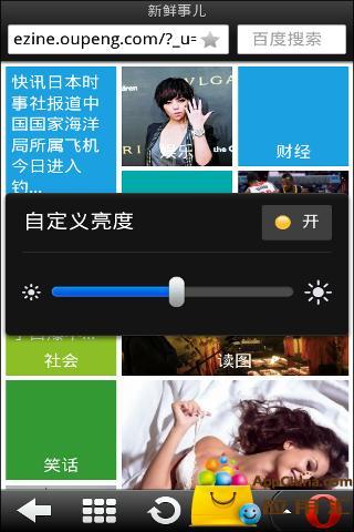 欧朋浏览器HD截图1