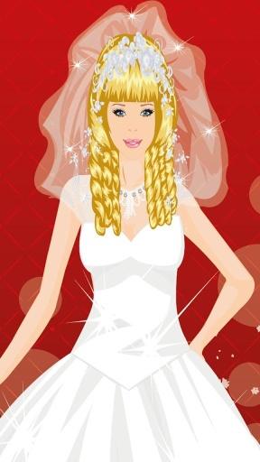 芭比新娘装扮游戏截图1