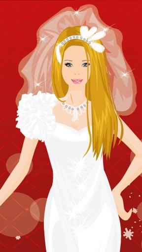 芭比新娘装扮游戏截图2