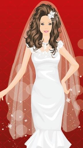 芭比新娘装扮游戏截图3
