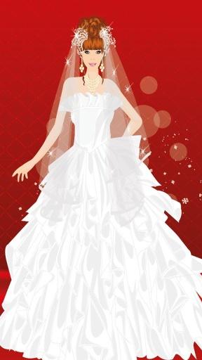 芭比新娘装扮游戏截图4