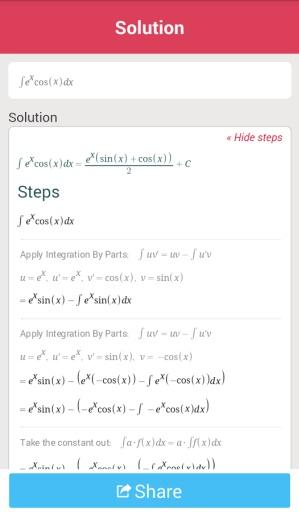 数学计算Symbolab截图2