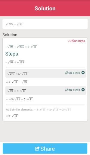 数学计算Symbolab截图3