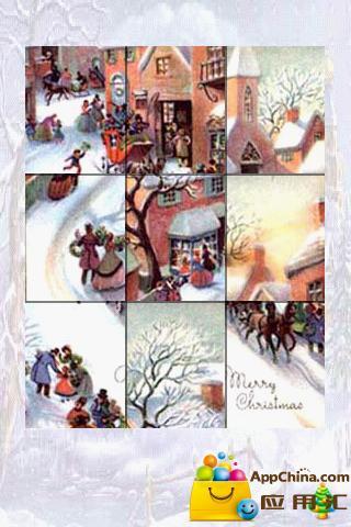 圣诞壁纸拼图