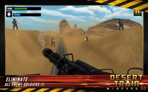军事突击:子弹头列车截图2