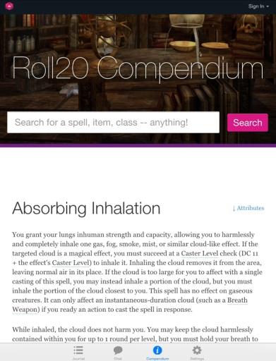 D20系统游戏工具Roll20