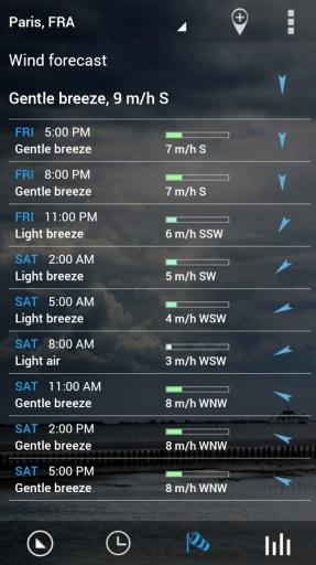 翻转时钟天气部件截图2