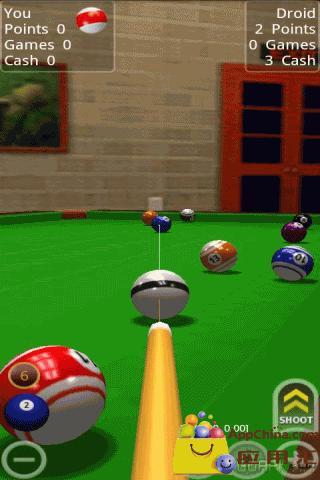 疯狂桌球3D版截图1