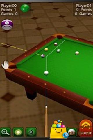 疯狂桌球3D版截图2