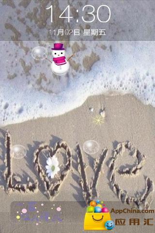 非主流沙滩iphone解锁