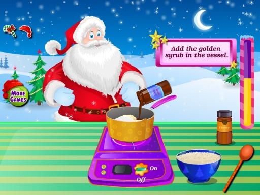 巧克力蛋糕圣诞节游戏截图1