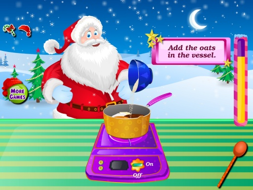 巧克力蛋糕圣诞节游戏截图2