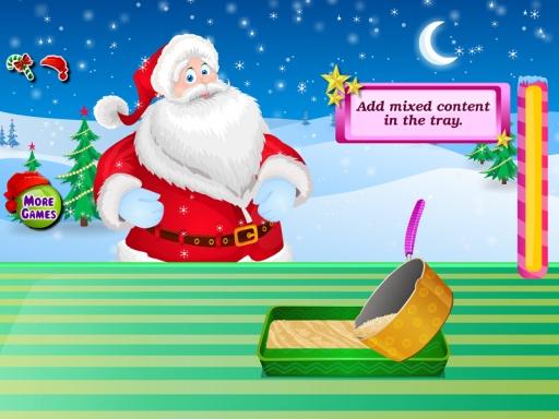 巧克力蛋糕圣诞节游戏截图3