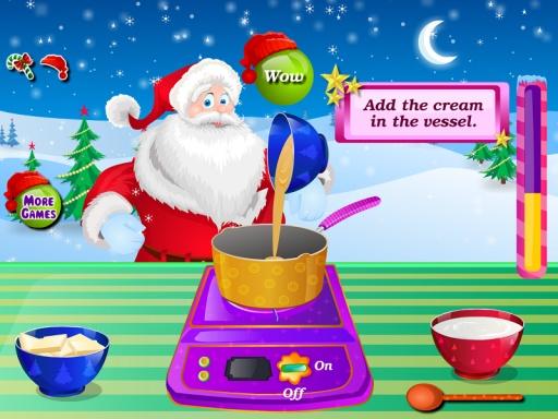 巧克力蛋糕圣诞节游戏截图4