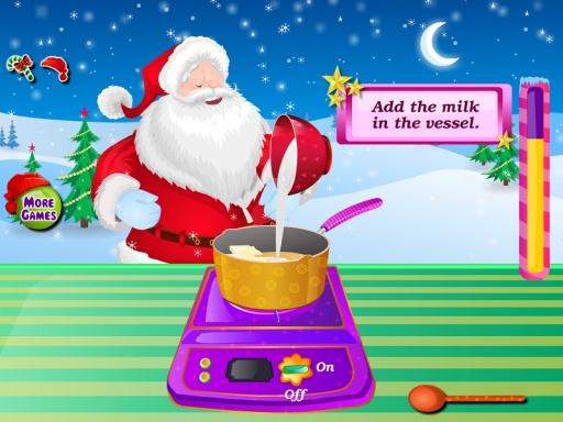 巧克力蛋糕圣诞节游戏截图5