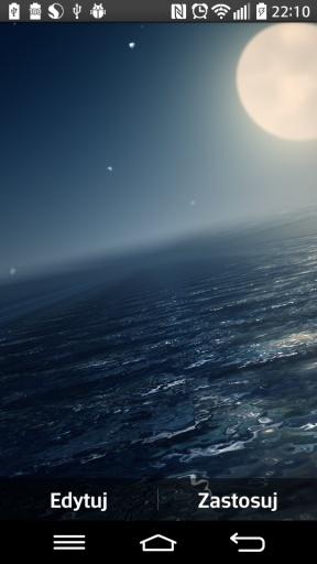 Ocean At Night Live Wallpaper截图0