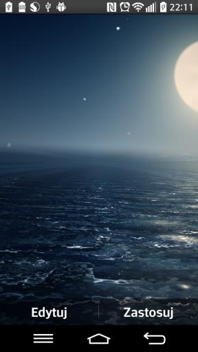 Ocean At Night Live Wallpaper截图2