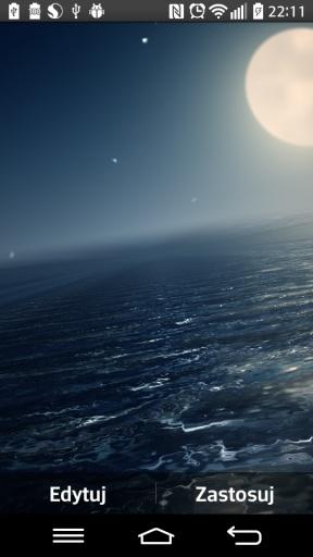 Ocean At Night Live Wallpaper截图3