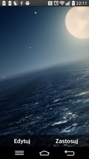 Ocean At Night Live Wallpaper截图4