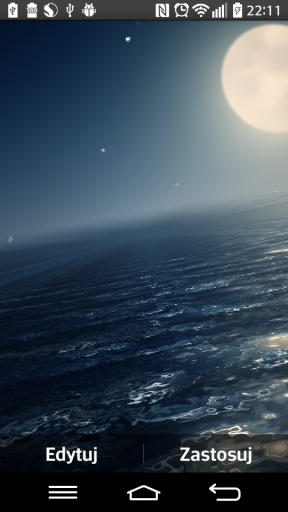 Ocean At Night Live Wallpaper截图5