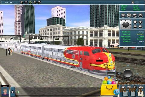 模拟火车截图1
