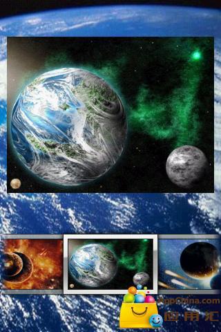 宇宙和行星拼图