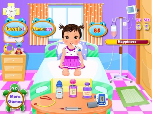 婴儿的医生女孩游戏截图1