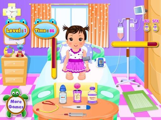 婴儿的医生女孩游戏截图2