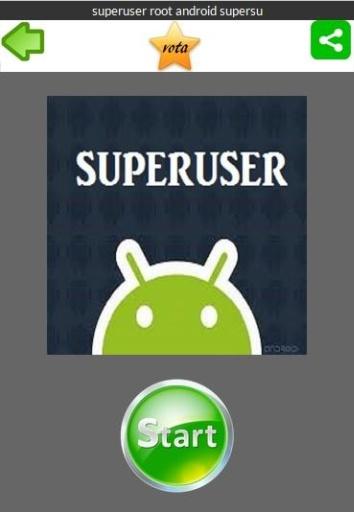 superuser root android supersu截图0