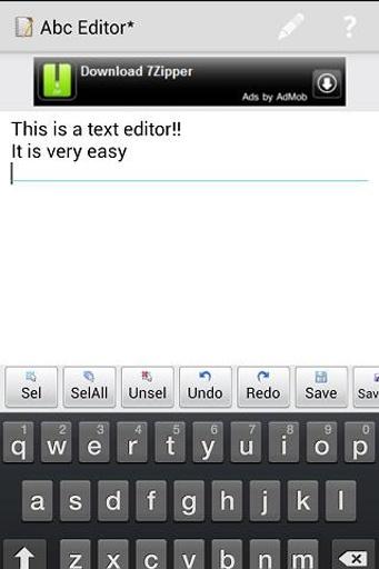 Abc Editor截图0