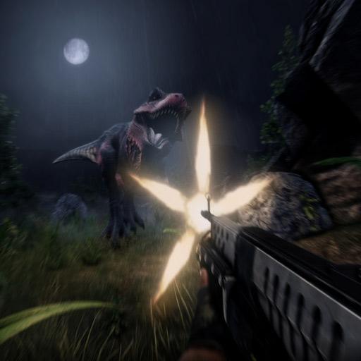 恐龙猎人在森林截图0