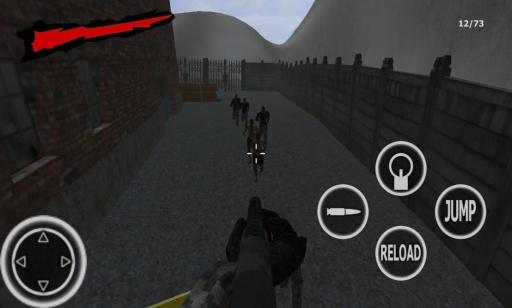 僵尸生存 - FPS射击游戏3D截图2