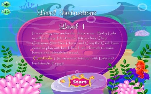 可愛寶貝美人魚截图0