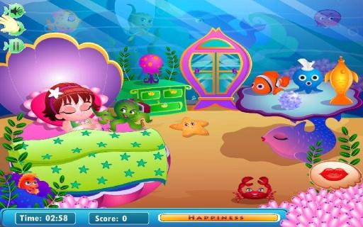 可愛寶貝美人魚截图1