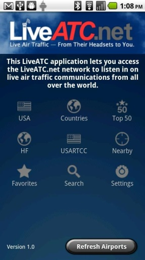 LiveATC for Android截图0