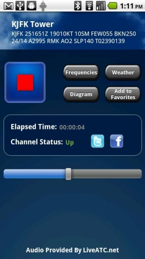 LiveATC for Android截图1