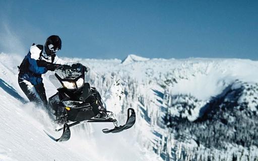 极速摩托雪地拉力赛