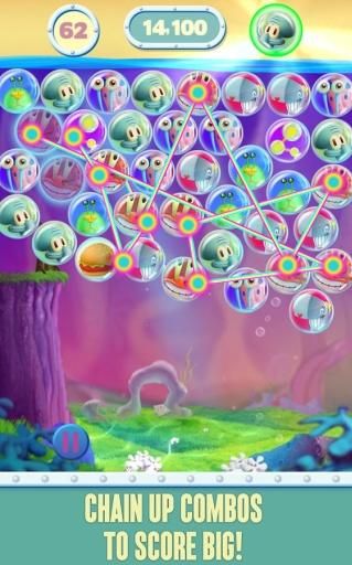 海绵宝宝泡泡派对截图1