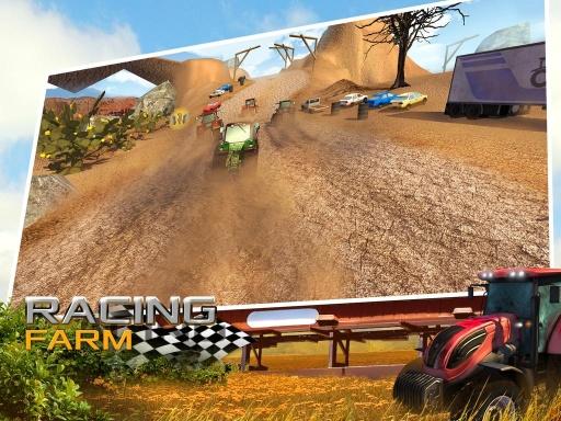 疯狂农场拖拉机赛