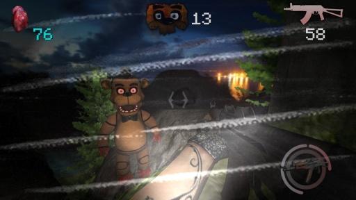 玩具熊与无面人截图0