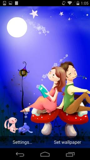 浪漫之约一-梦象动态壁纸