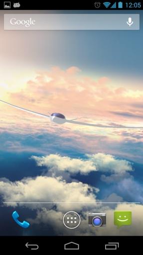 云端翱翔3D动态桌面截图2