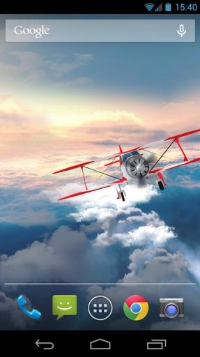 云端翱翔3D动态桌面截图3