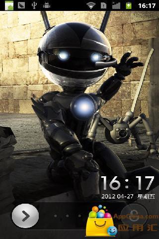 机器人之恋锁屏