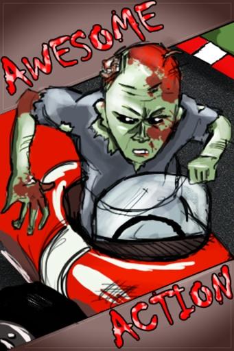僵尸行动 赛车 - 最佳儿童游戏