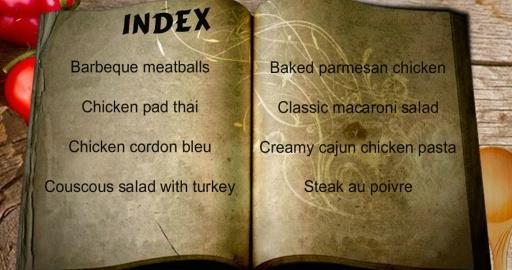 烹饪厨师 - 食谱截图5