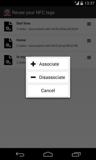 NFC Tools Plugin : Reuse Tag截图1