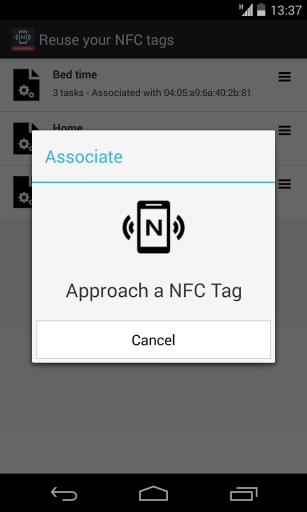 NFC Tools Plugin : Reuse Tag截图2