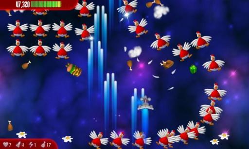 Chicken Invaders 3 Xmas HD截图2